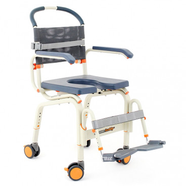 roll in Shower Buddy lite, commode shower chair