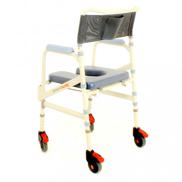 eco shower chair back view