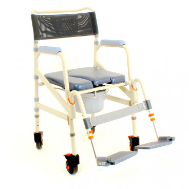 """16"""" Wide Eco Roll In Shower Chair"""