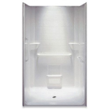 "48"" x 37"" Accessible Shower, Right valve wall"