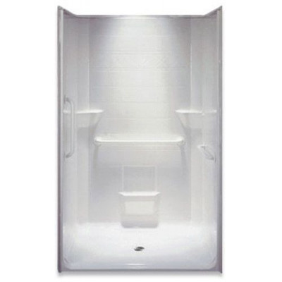 """48"""" x 37"""" Accessible Shower, Right valve wall"""