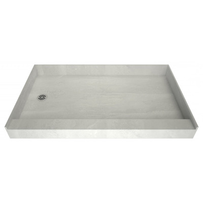 """60"""" x 32"""" Tile Over Curbed Shower Pan"""
