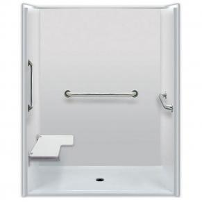 60 x 36 inches  Accessible Shower, Left Seat