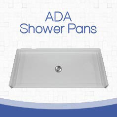 Freedom ADA Compliant Roll In Shower Pans - Freedom Showers
