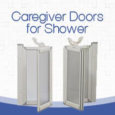 Caregiver Doors for Showers