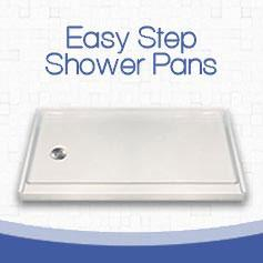 Freedom Easy Access Walk in Shower Pans - Freedom Showers