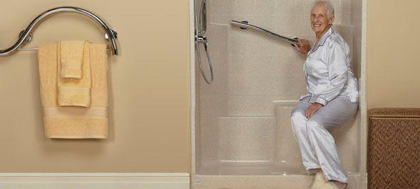 Easy Access Walk In Showers Freedom Showers