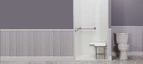 ADA Compliant Walk In Shower Stall
