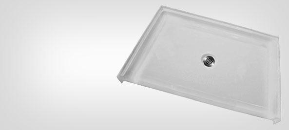 ADA Compliant Shower Base - Freedom ADA Roll in Shower Pans