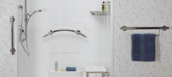 ADA Grab Bars for Showers & Toilets