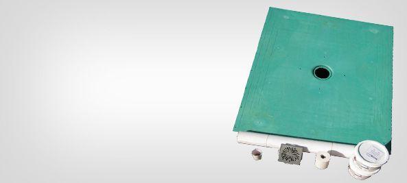 Level Entry Shower Pan Curbless Shower Base For Tile