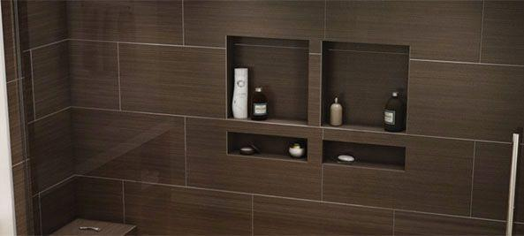 Tile Ready Soap Niches for Shower Storage | Freedom Showers