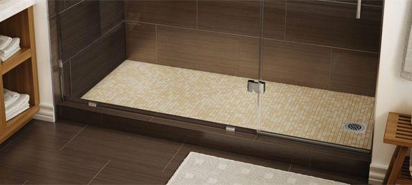 tiling shower pans with curb, tile redi shower base with curb