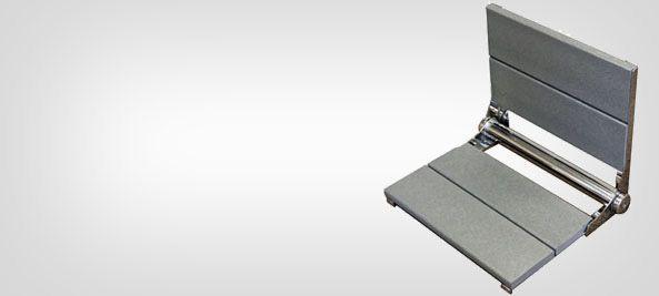 wall mounted folding shower seats