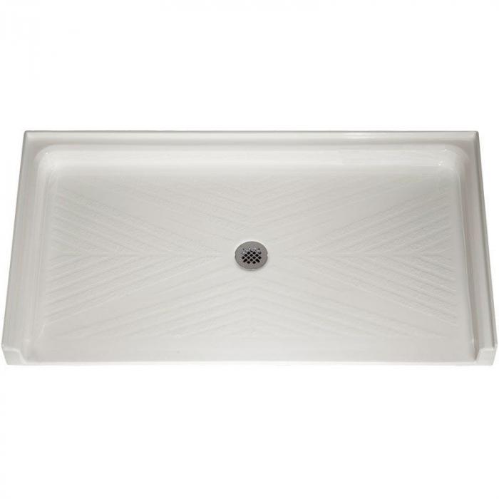 freedom ada shower pan acrylic 62 x 32. Black Bedroom Furniture Sets. Home Design Ideas