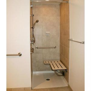 ada transfer shower pan for Hud job