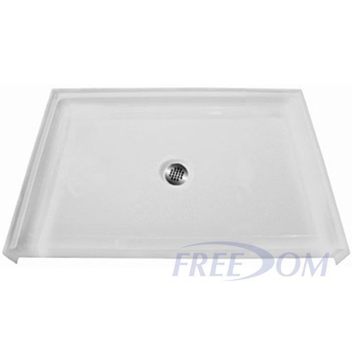 Freedom ADA Shower Base Fiberglass 38 5 8 X 38 7 16