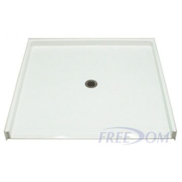 Freedom Accessible Shower Pan, Fiberglass