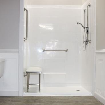 shower for a mobile home