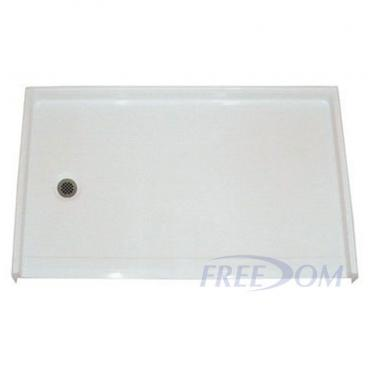 Freedom Barrier Free Shower Pan Left Drain 54 Quot X 31 Quot