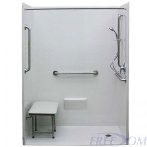 Experience True Barrier Free Bathing With Freedom Shower Packages