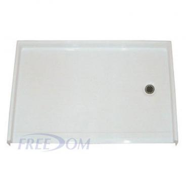 "54"" x 36⅞"" Freedom Accessible Shower Pan, RIGHT Drain"