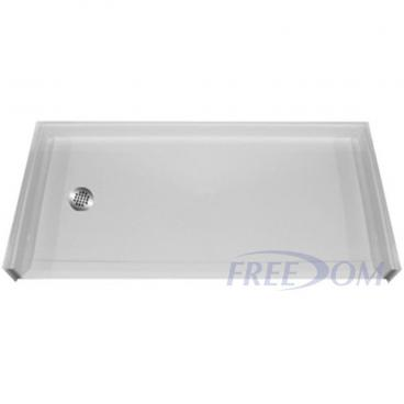 Freedom Accessible Shower Pan Left Drain 60 x 31