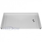 low profile shower pans