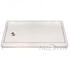 60 x 31 Freedom Easy Step Shower Pan, left drain