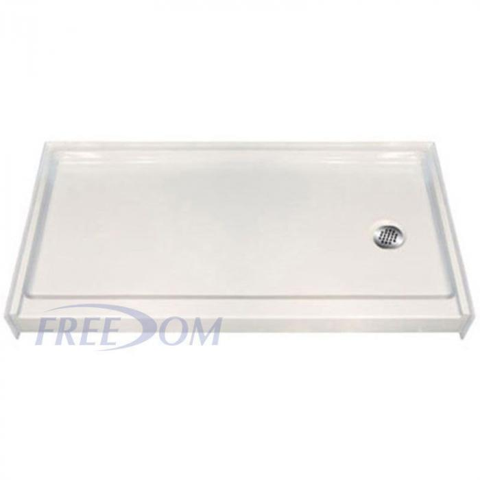 Freedom Easy Step Shower Pan Right Drain 60 Quot X 31 Quot