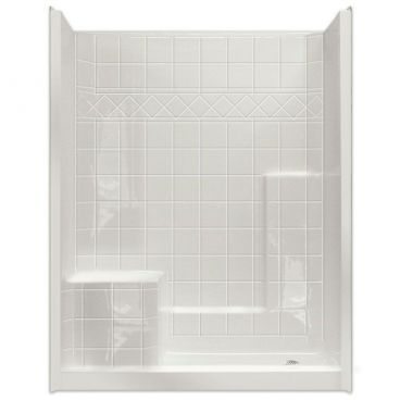 "60"" x 36"" Easy Step Shower, LEFT Seat"