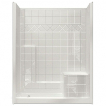 "60"" x 36"" Easy Step Shower, RIGHT Seat"