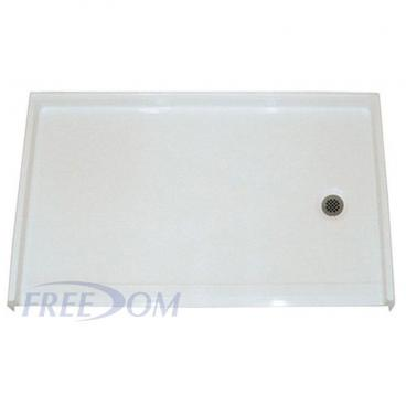 Freedom 60 x 37 Roll in Shower Pan