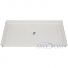 Freedom Accessible Shower Pan, Fibreglass