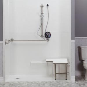 code compliant shower 5 piece
