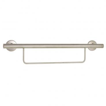 freedom towel bar, grab bar 30 inch satin