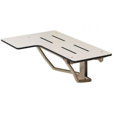 ADA folding shower seat