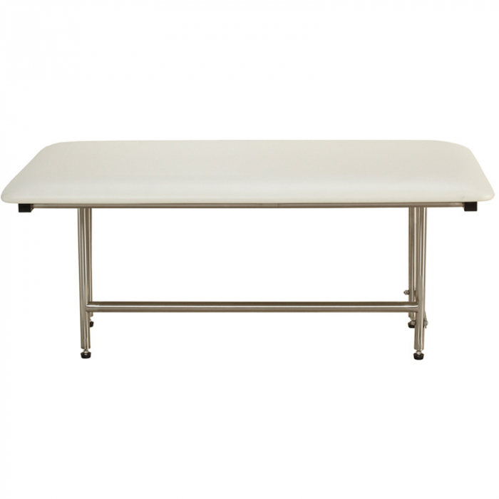 Freedom Folding Shower Bench With Legs, Padded White (30\