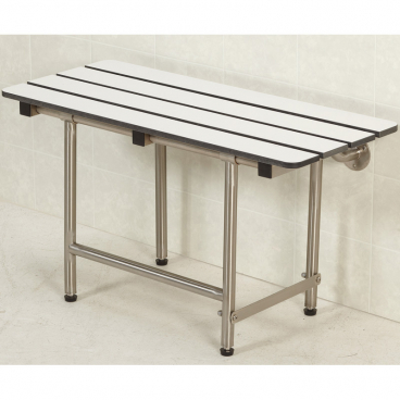 folding bench for change room