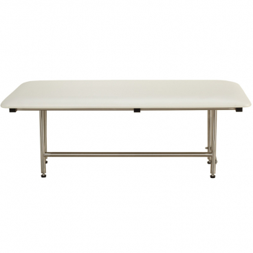large folding shower bench with legs