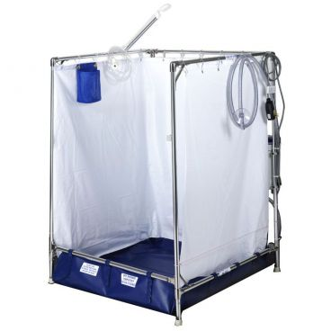 portable wheelchair shower