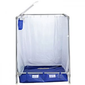 temporary indoor portable shower stalls