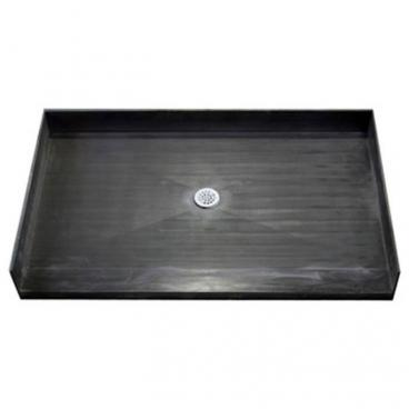 Tile Over Accessible Shower Pan, 48 x 32 INCH Center Drain