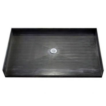 Freedom Tile Over 60 x 33 Shower Pan Center Drain