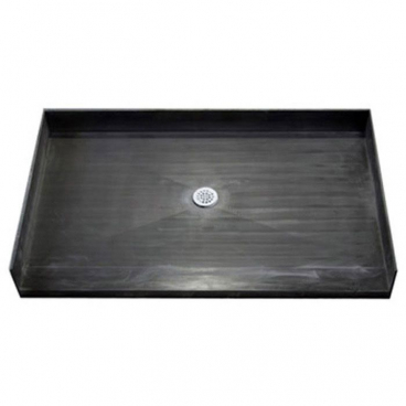 "48"" x 34"" Tile Over Accessible Shower Pan, CENTER Drain"