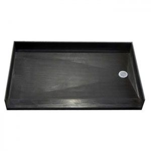 60 inch Tile Ready Accessible Shower Pan, Right drain