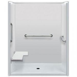 60 x 36 inces  Accessible Shower, Left Seat