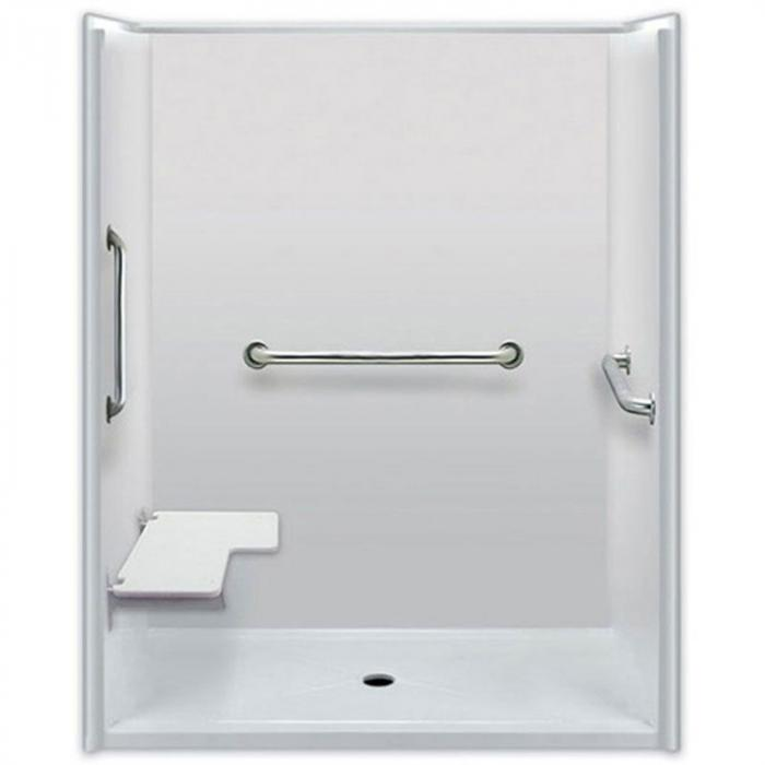 Freedom showers accessible showers ada showers easy step home design idea - Easily accessible bathroom designs guide ...