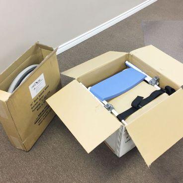 shower wheelchair packaging