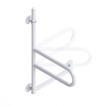 bath safety bar white